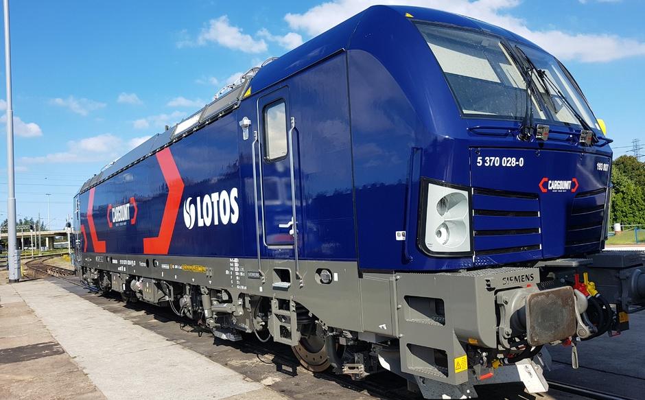 Nowoczesna lokomotywa na testach pod Wrocławiem