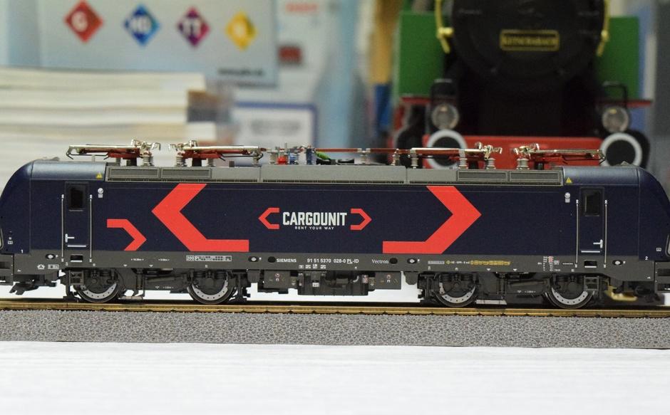 Model Lokomotywa Vectron BR193 CARGOUNIT Roco 73917/ 79918