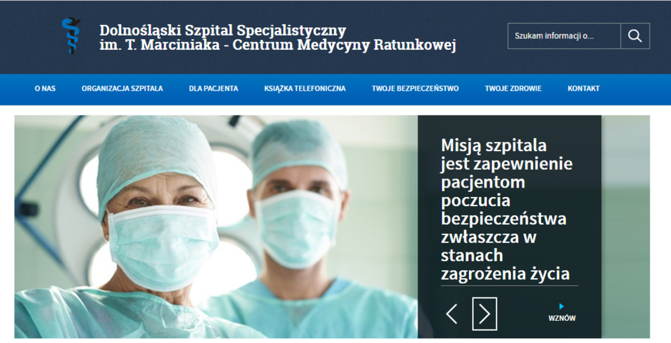 Industrial Division (CARGOUNIT) przekazał dofinansowanie dla Dolnośląskiego Szpitala im. T.Marciniaka podczas pandemii COVID-19.