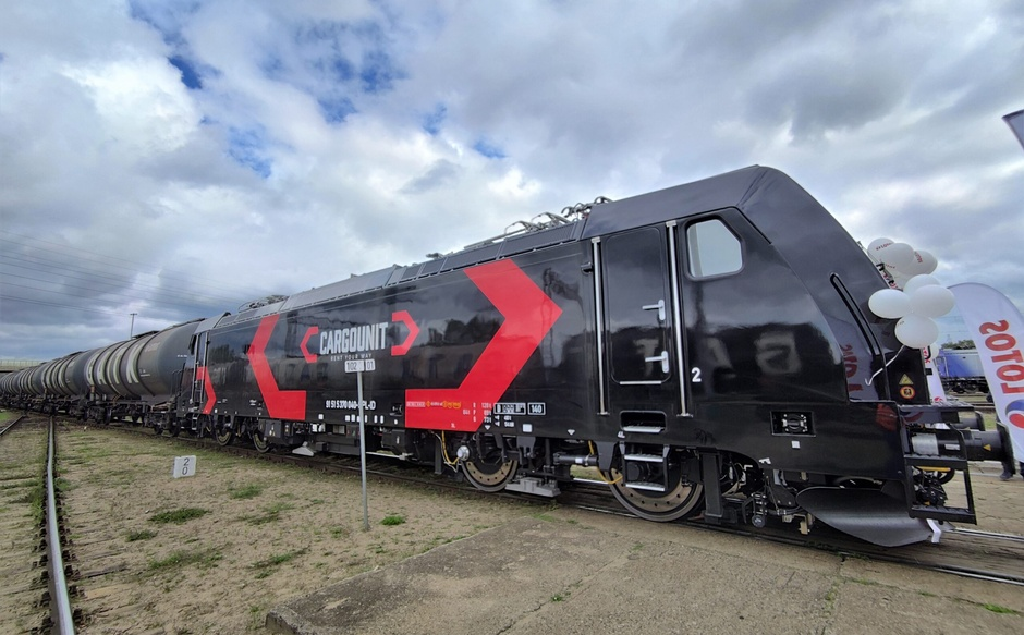 CARGOUNIT with three new locomotives BOMBARDIER TRAXX MS